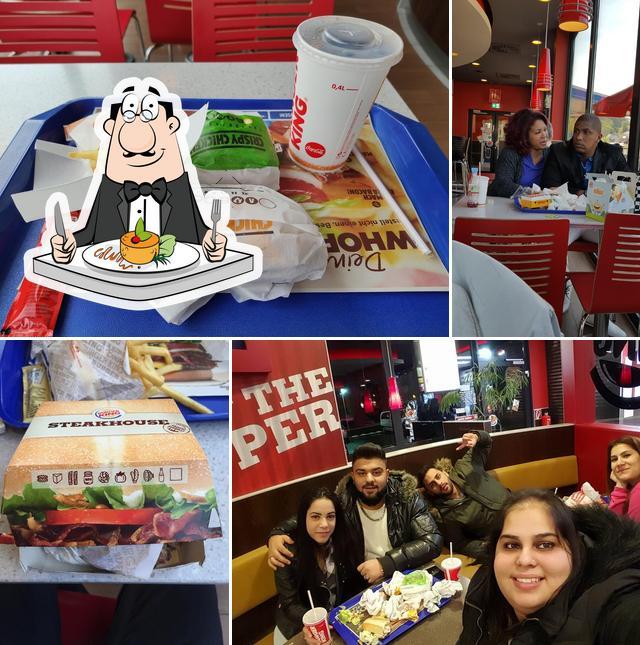 "Еда в ""Burger King"""