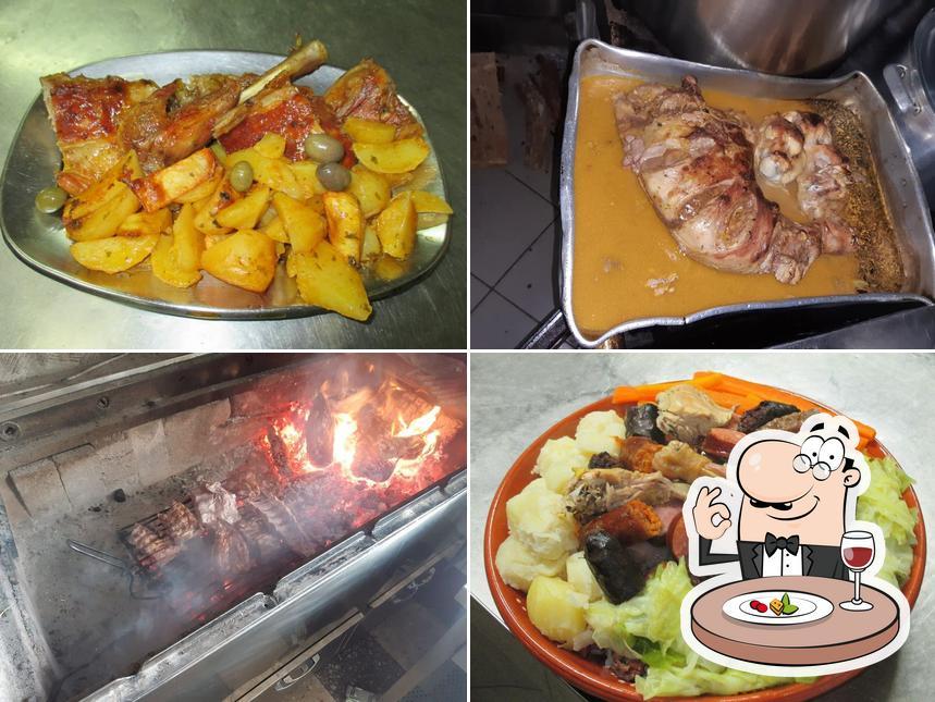 Platos en Restaurante Borges