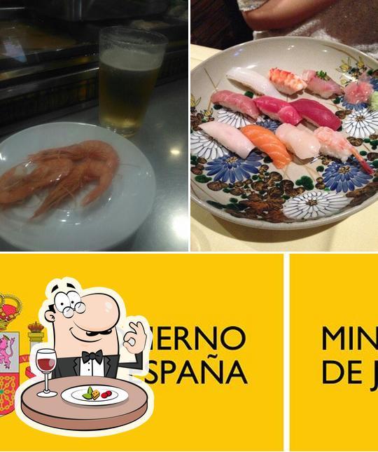 Las fotografías de comida y bebida en Cafetería Dosaka