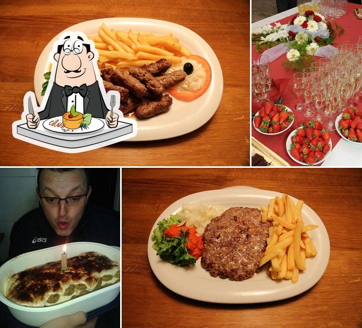 Food at Fast food Veni