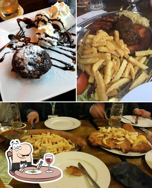 Unter anderem finden Sie lebensmittel und innere im XXL Restaurant Waldgeist Hofheim am Taunus