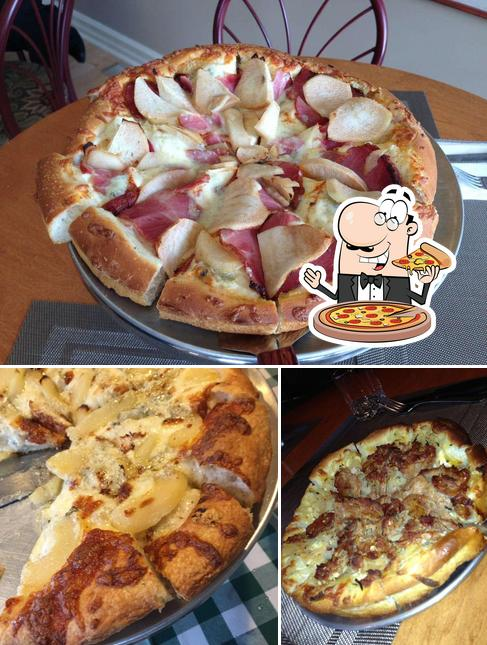 Try out various types of pizza