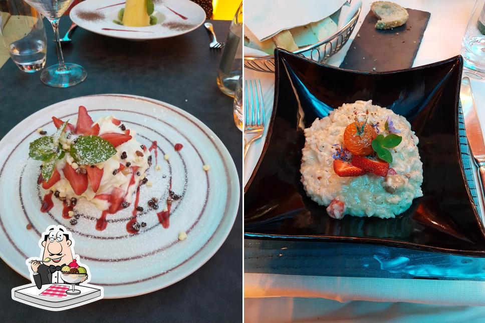 Elementi bietet eine Vielfalt von Desserts
