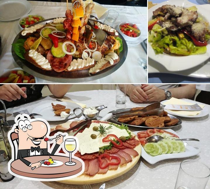 Essen im Hotel Rodjo