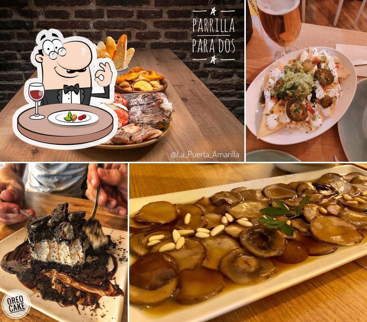 Las fotografías de comida y interior en La Puerta Amarilla