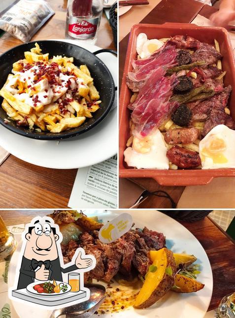 Comida en El Fogón de Mariana-La Barrosa