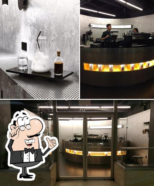 The interior of Voyager Espresso