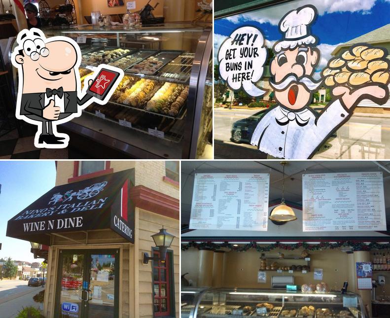 Here's a pic of Nino's Italian Bakery