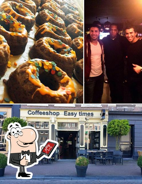 Look at the image of Easy Times Coffeeshop