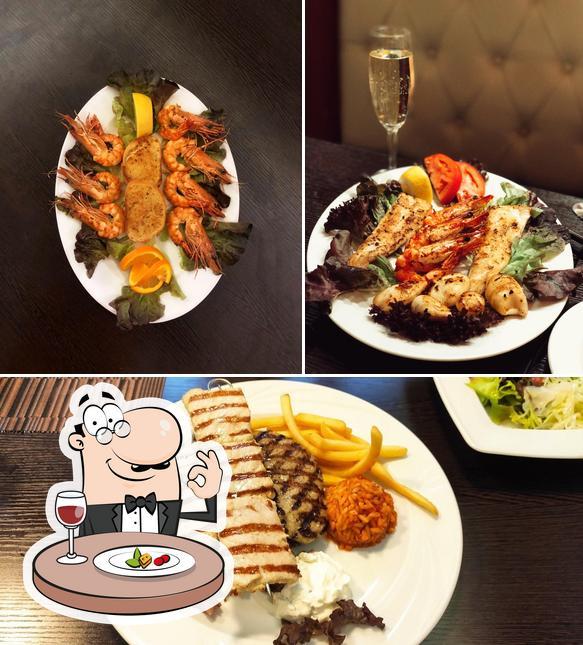 Nourriture à Griechisches Restaurant Poseidon