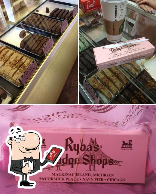 Look at this photo of Ryba's Fudge