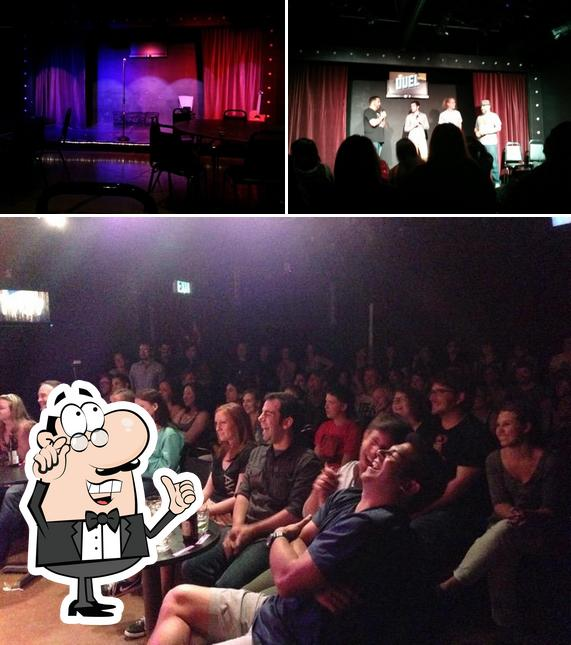 Check out how RISE Comedy - Full Bar • Comedy • Improv • Stand Up • Sketch looks inside