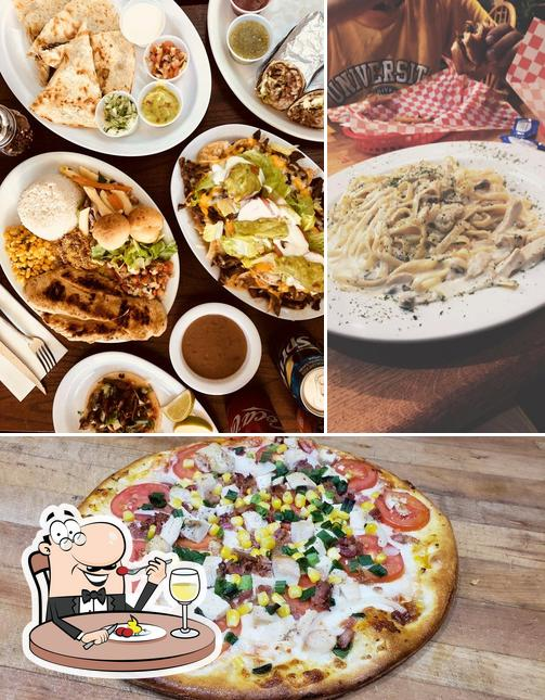 Food at Mr Pizza Man San Mateo
