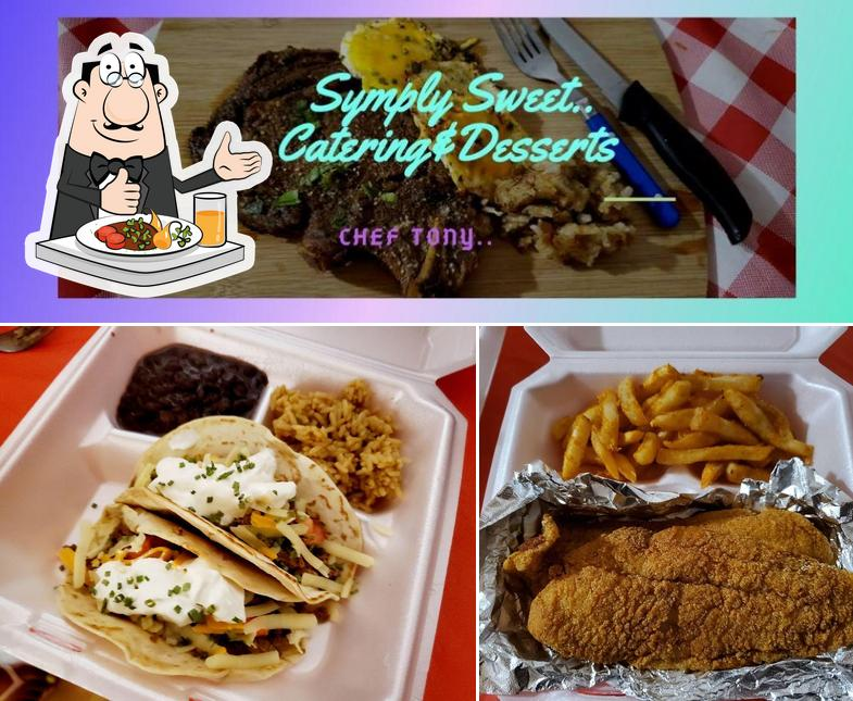 Food at Symply Sweet Catering & Desserts
