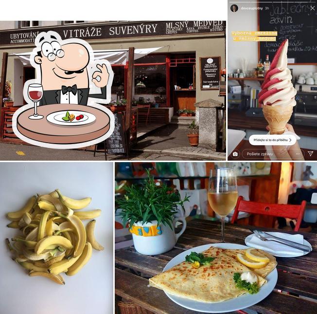 Food at Palačinkárna a kavárna u Mlsného medvěda