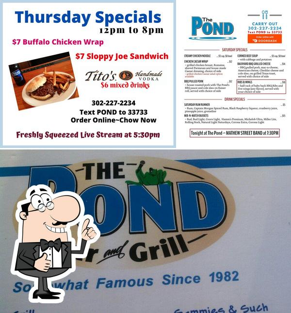 Here's a pic of The Pond Bar & Grill
