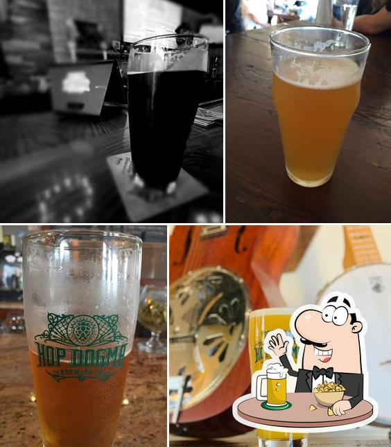 Hop Dogma Brewing Co. provides a range of beers