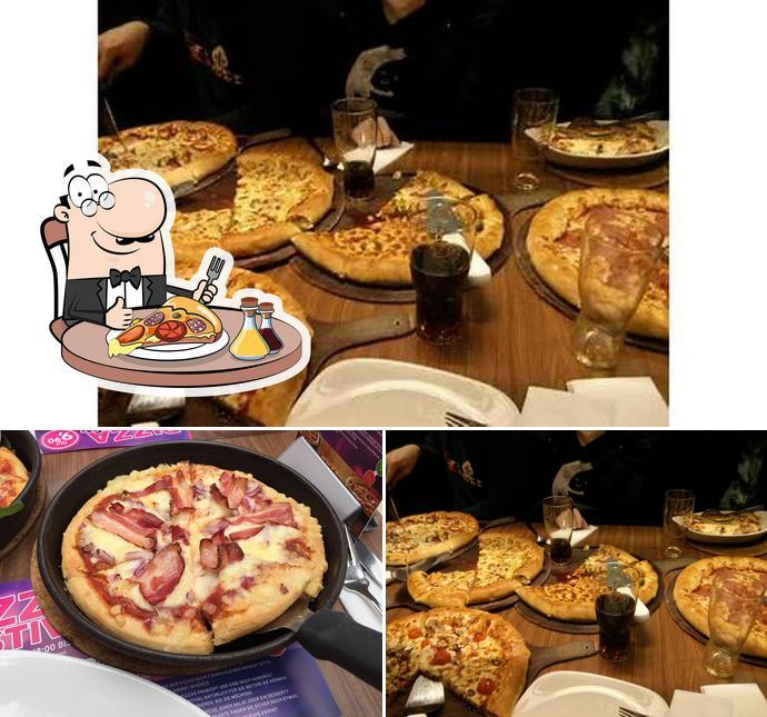 Probiert diverse Variationen von Pizza
