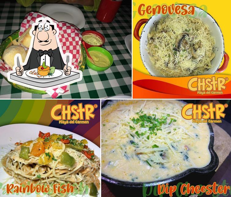 Meals at Cheester Playa