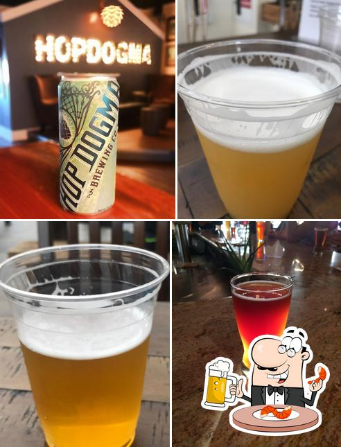 Take a look at the selection of beers