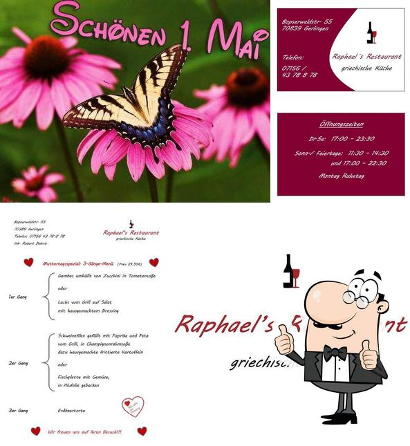 See this pic of Raphael's Restaurant - griechische Küche