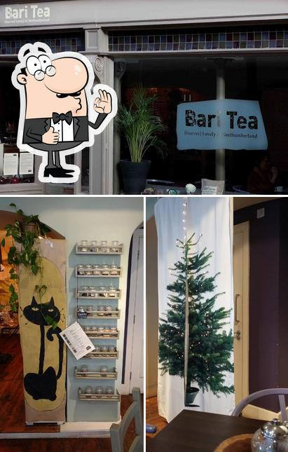 See this picture of Bari Tea