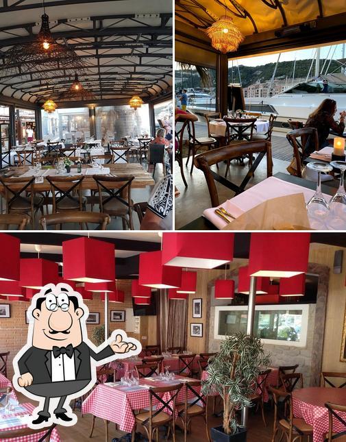 L'image de la intérieur et nourriture concernant Da Rocca