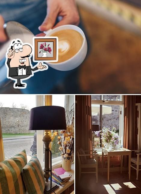The image of interior and beverage at Hapsal Dietrich