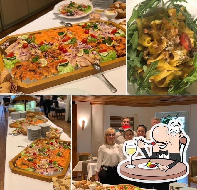 Food at Hotel Restaurant Borchard