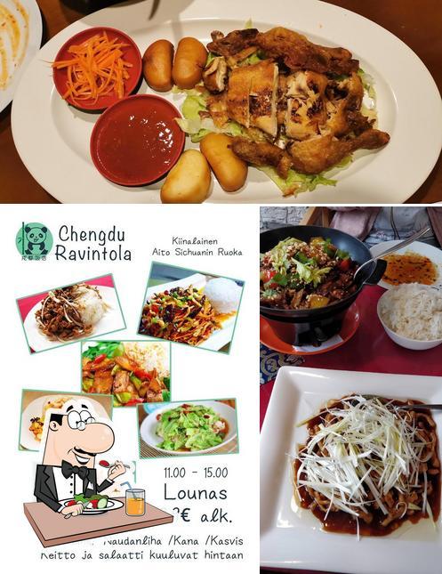 "Еда в ""Chengdu Ravintola(成都饭店)"""