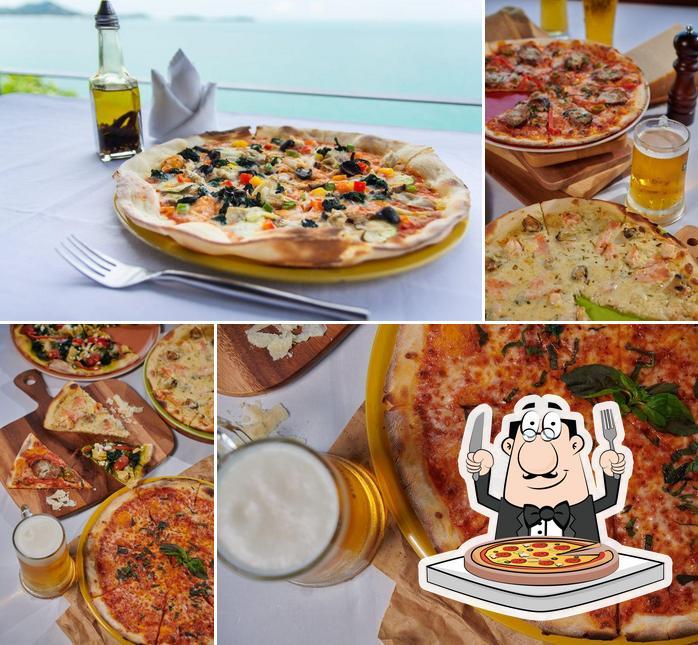 Prueba una pizza en Dr Frogs