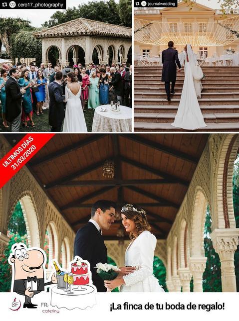 Doña Francisquita Catering tiene la opción de celebrar recepciones de boda