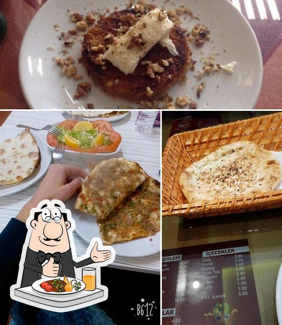 Food at Efes Pide Ve Kebap Salonu