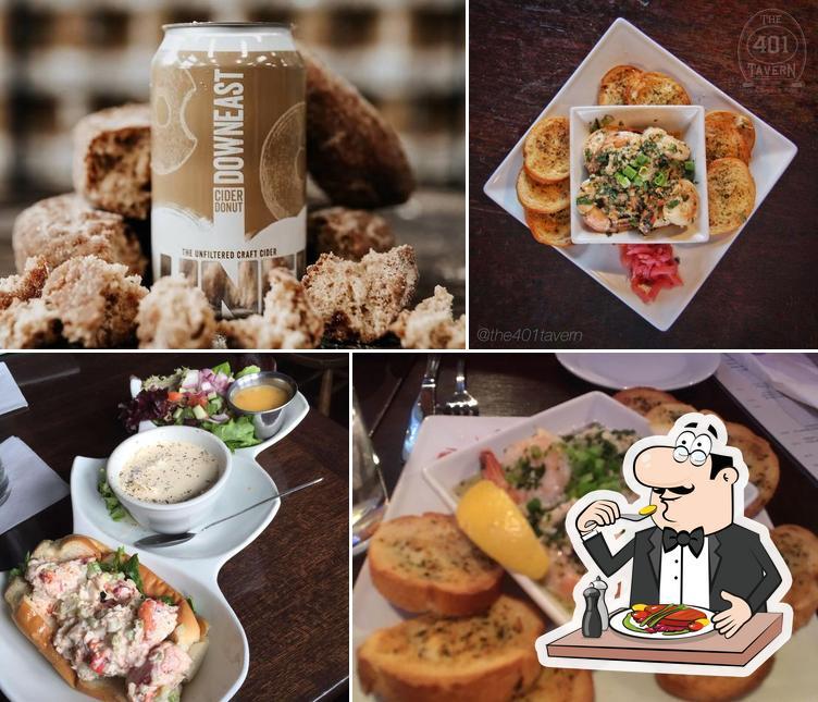 Meals at 401 Tavern