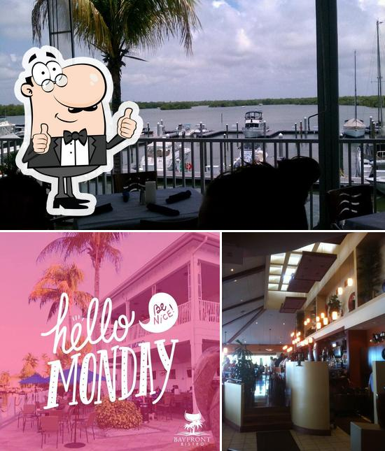 Look at the picture of Bayfront Bistro