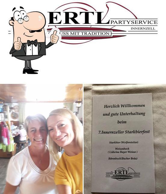 Look at the pic of Gasthof ERTL
