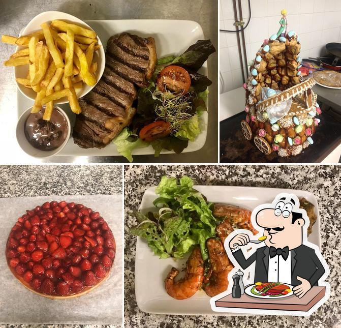 Nourriture à AUBERGE LA BATTEUSE