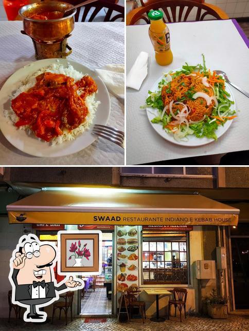 Las imágenes de interior y comida en Swaad Restaurante Indiano e Kebab House