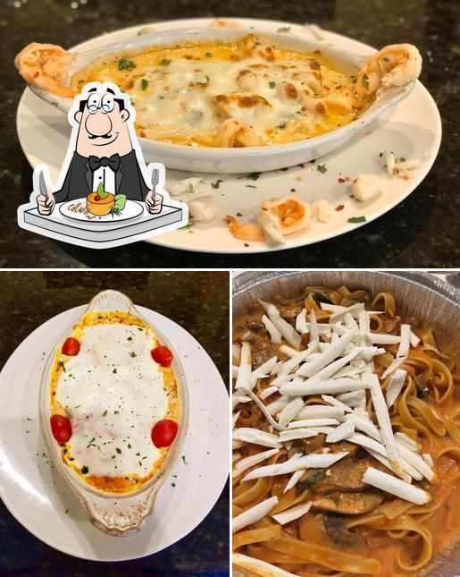 Food at Sal's italian restaurant