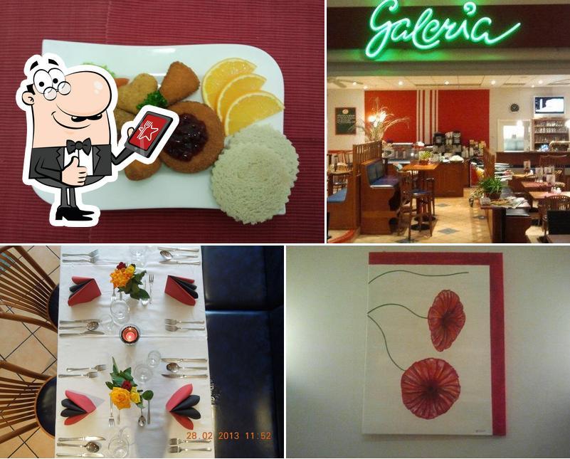 Look at the image of Restaurant Galeria Freital