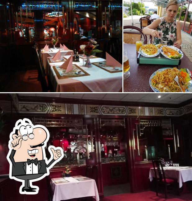 The interior of China Restaurant Shanghai