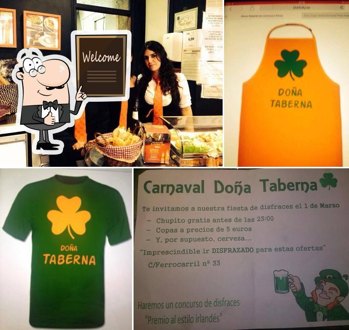 Aquí tienes una imagen de Doña Taberna