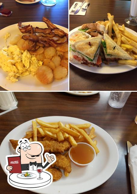 Food at Town & Country Restaurant