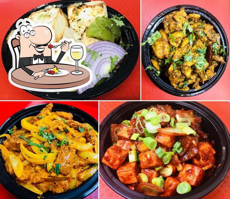 Food at Crossroads Biryani & Grill