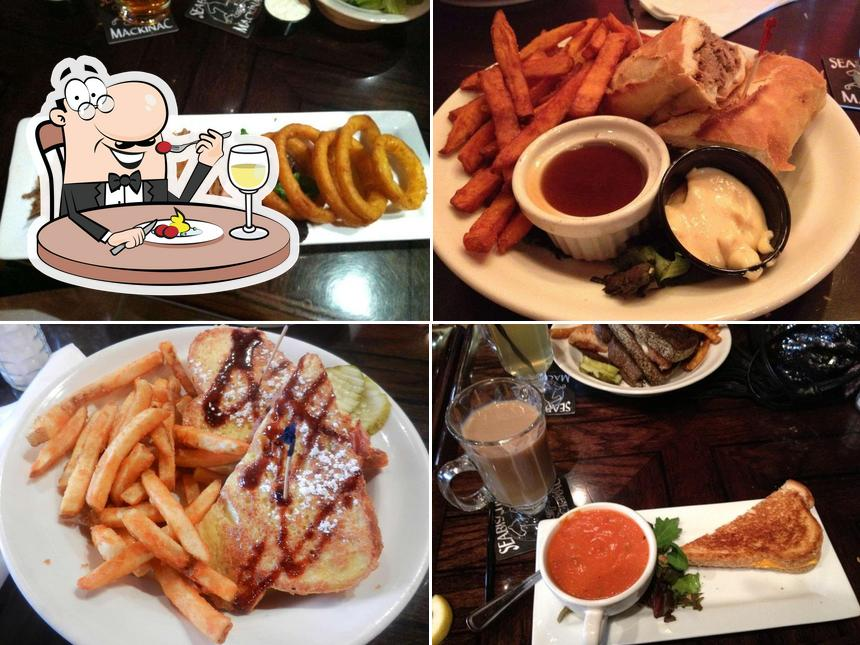 Meals at Seabiscuit Cafe