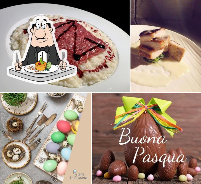Meals at La Costanza