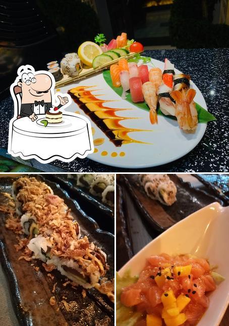 SushiHouse bietet eine Mehrzahl von Desserts