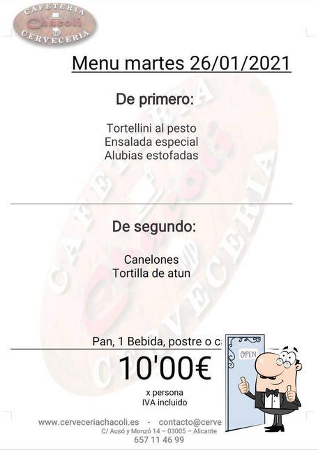 Imagen de Cerveceria Cafetería Chacoli