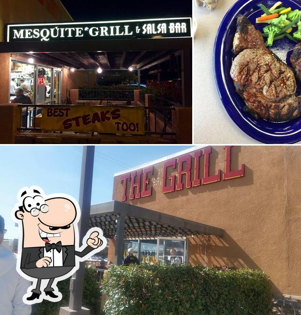 The Grill on San Mateo is distinguished by exterior and meat