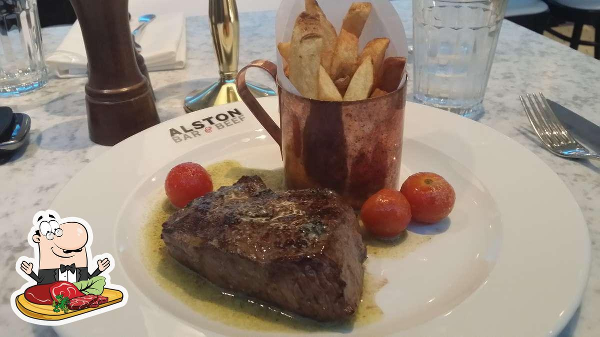 Meat meals are available at Alston Bar & Beef